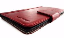 Genuine Real Leather Hard case for apple iPad 4 3 2 Credit Card Slots Slim Red R