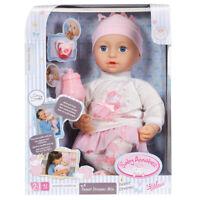 Baby Annabell Sweet Dreams Mia 43cm Doll NEW