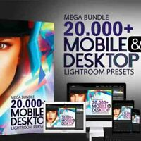MASTERBUNDLES - 20,000+ MEGA BUNDLE MOBILE AND DESKTOP LIGHTROOM PRESETS