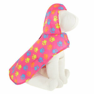Top Paw Pink Dog Raincoat In A Bag-Size XL-New With Tag