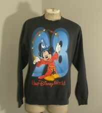 Vintage 90s 1998 WALT DISNEY WORLD MICKEY MOUSE Fleece Sweatshirt Warm Up Medium