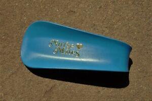NURSE MATES Collectible Blue Plastic Advertising SHOE HORN