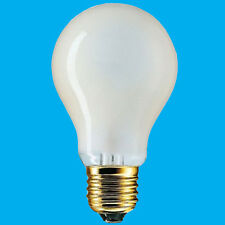 8x 60W(=85W) Pearl Halogen GLS Energy Saving Light Bulb ES E27 Edison Screw Lamp