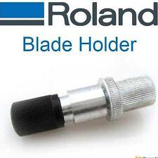 Vinyl Cutter Blade Holder for Roland Cutters - Silver Aluminum - No Genuine