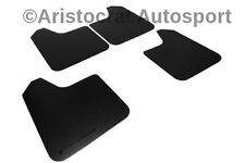 RALLY ARMOR BASIC UNIVERSAL MUD FLAPS BLACK LETTERING SET OF FOUR! MF12-BAS-BLK