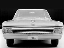 1965 Dodge Charger II Concept Car Front View 8 x 10 Photograph