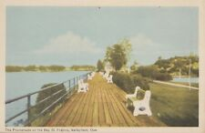 Baie St. Francis VALLEYFIELD Beauharnois-Salaberry Quebec Canada 1940s PECO
