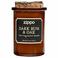 Zippo Spirit Candle - Dark Rum & Oak, 70007, New Condition (5 oz. jar)