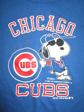Vintage Artex 1988 Peanuts SNOOPY - CHICAGO CUBS (Toddler SMALL) T-Shirt