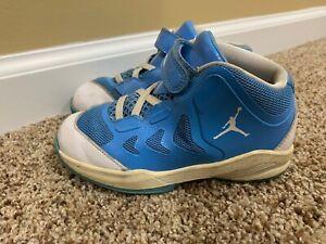 Nike Air Retro Jordan Size 10C Toddler 2011 2012 510584 White Light Blue