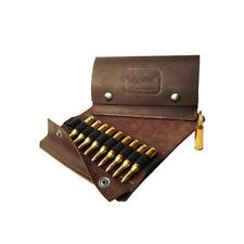Napier Leather Bullet Wallet 10 Round Brown