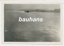 Foto Flugzeug/Flugboot bei Landung 2.WK (u06)