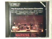 KROUMATA PERCUSSION ENSEMBLE John Cage - Cowell - Lundquist - Taira cd GERMANY