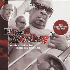 Fred Wesley-With A Litle Help From My Friends Promo cd maxi single  9 tracks car