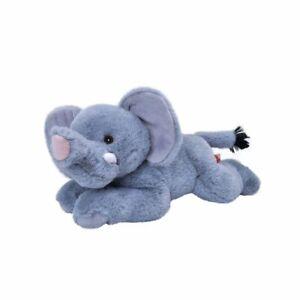 "Ecokins Mini Elephant soft plush toy 8""/20cm Wild Republic"