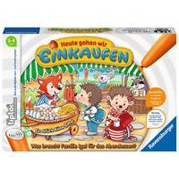 RAVENSBURGER tiptoi® Spiel Heute gehen wir einkaufen Kinderspiel Lernspiel ab 3+