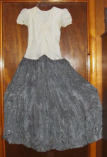 1950 Prom Formal Dress COSTUME Cosplay Halloween Zombie Costume Handmade Medium
