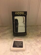 "Vintage Zippo Engraved Cigarette Lighter "" Brenda "" NEW IN BOX"