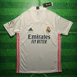 Real Madrid 2020/21 Plain Home Jersey (No name/number)
