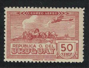 Uruguay Aircraft Airmail 50c 1939 MNH SG#821 MI#595