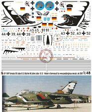 Peddinghaus 1/48 Tornado IDS Markings '40th Anniversary' JaboG 33 Büchel 1409