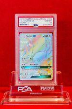 PSA 10 GEM MINT Tauros GX Hyper Rare (#156/149) Pokémon Sun & Moon Base Set
