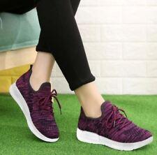 Tanggo Brie Fashion Shoes Women's Korean Sneakers (Violet) Size 39