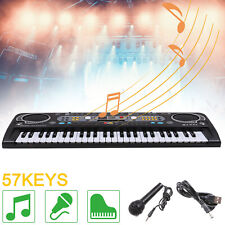 More details for musical keyboard piano 54 keys electronic electric digital beginner adult sets
