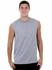 Russell Athletic Mens Vest T-Shirt Tank Top (Grey) - XL