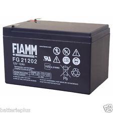 Fiamm | FGS FG21202 12V 12Ah Faston 6,3mm LC-RA1212PG1 Genesis NP12-12 RE12-12FR
