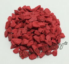 100g Red Mini Stones Aquarium Fish Tank Gravel Substrate Pebbles Rock Decorative