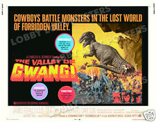THE VALLEY OF GWANGI LOBBY CARD POSTER HS 1969 JAMES FRANCISCUS DINOSAURS