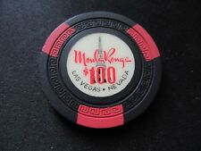Casino Chip Old 1955 Moulin Rouge $100.00 Las Vegas Nevada