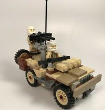 Lego ww2 Army Custom British SAS Rover Premium Version Made With Real Lego(R)