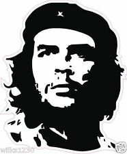 1 che guevara sticker silhouette laptop decals car van bus truck mini dub bike