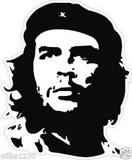 1 Pegatinas de Che Guevara silueta Coche Camión Van Bus de calcomanías de Laptop Mini Dub Bicicleta