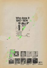 Who The LP advert ZigZag Clipping 1974