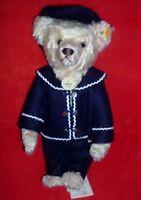 New !997  Steiff Papa Postcard Teddy Bear  EAN #027758