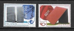 ICELAND - 2002. Nordic Postal Co-operation - Modern Art.  Set of 2, MNH