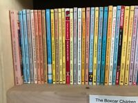 TEN-PACK BUNDLE/LOT OF BOXCAR CHILDREN~  Children's Chapters BOOKS