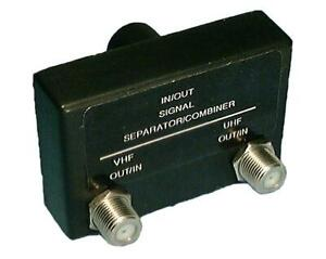 Philmore MT86, 75 to Dual 75 Ohm UHF/VHF Band Separator / Combiner Balun