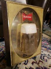 Budweiser 3D Beer Mug Lighted Beer Sign, Vintage Budweiser Beer On Tap