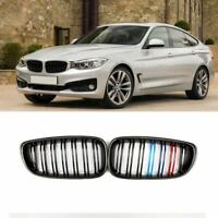 Carbon Fiber M Color Front Grille For 2014-2017 BMW F34 3-Series GT Gran Turismo