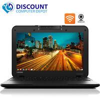 "Lenovo Chromebook Computer N22 11.6"" Intel 16GB SSD Wifi Webcam Bluetooth HDMI"