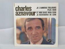 Charles Aznavour – Je L'Aimerai Toujours                 Barclay – 71 046