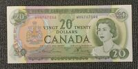 1969 Canada Lawson Bouey BC-50b $20.00 Banknote WH 4767546 Uncirculated