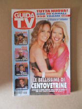 GUIDA TV n°35  2012 [G764] SARA ZANIER MARIANNA DE MICHELI