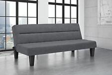 Modern Versatile Minimalistic Lightweight Charcoal Kebo Futon Sofa Sleeper Bed
