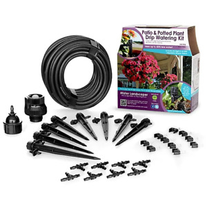 Mister Landscaper Patio & Potted Plant Drip Watering Kit Brand New