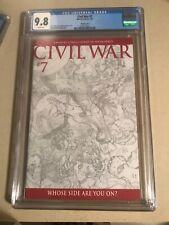 Civil War #7, NM/M CGC 9.8, Michael Turner 1:75 Sketch Variant